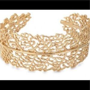 Stella & Dot Gold cuff